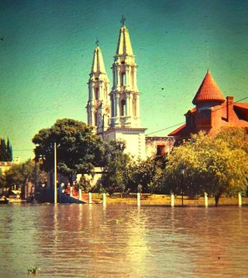 Flood 1967 all the way to church