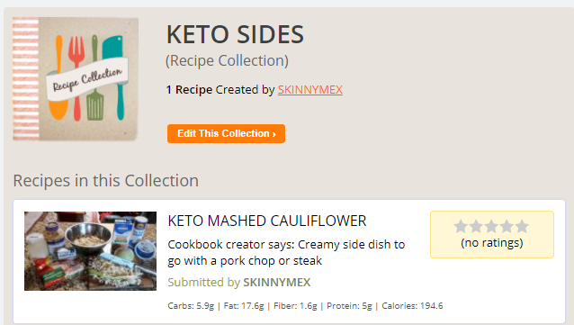 KETO MASH