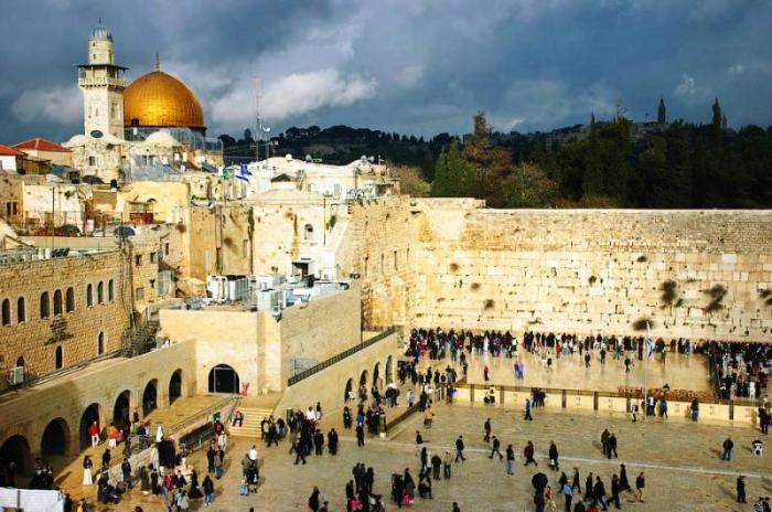 Jerusalem in Israel tourism destinations
