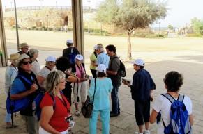 Caesarea first stop