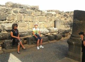 Elders seats temple Chorizin