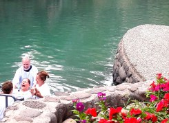 Gloria baptized