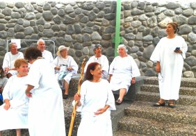 The saints get prepared with prayer