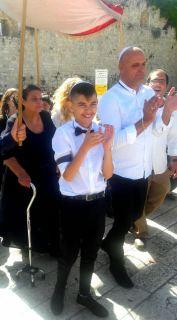 14 years old Bar Mitzpha