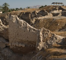 Rahab's house wall?
