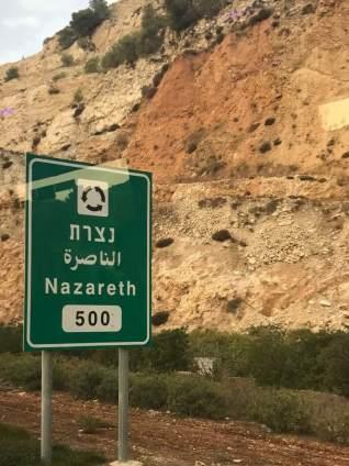 Jesus walked from Nazareth to Jerusalem