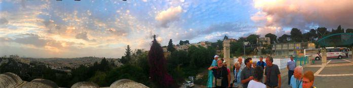 Overlooking Temple Mount