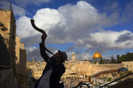 Blow the Shofar God is with us