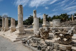 Bet Shean- Where Saul's head hung on city gate