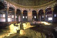 Sacred Rock inside Temple
