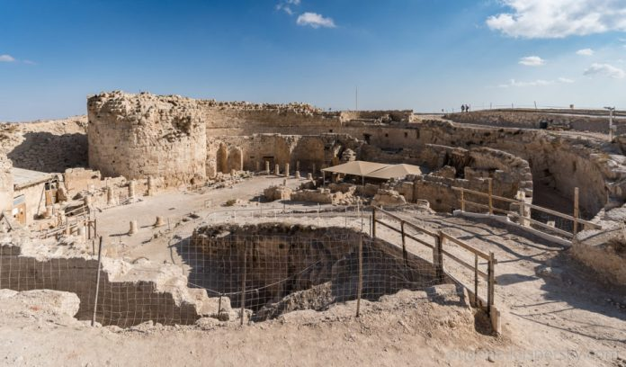 Ruins of King Herod Palace