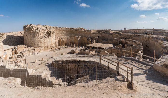 Ruins of King Herod Palace