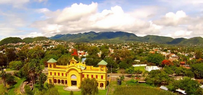 Old Train Station now cultural center in Chapala