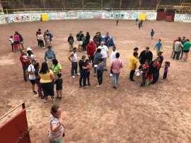 Three day outreach in San Nicolas
