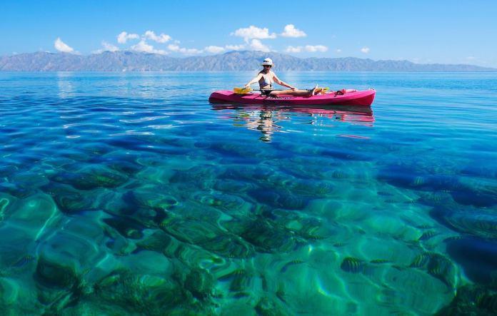 Serenity on kayaks