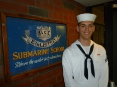 My nephew Blake a Sub Sailor too
