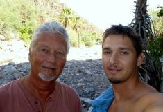 Ben and his son Eric both courageous deep Sea divers