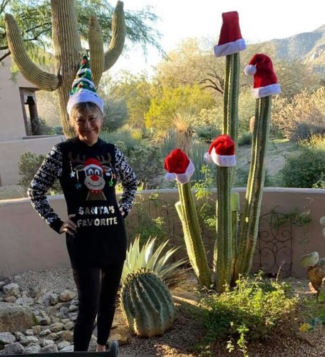 Sister Mary ready in Arizona for Christmas