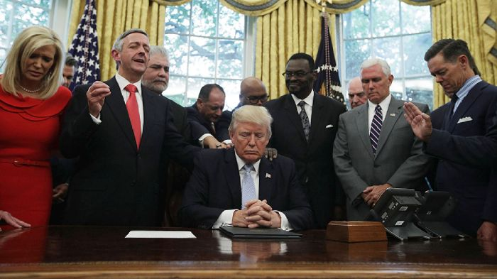 WHite HOuse prayer group