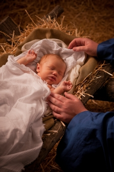 """Reborn """"in Him"""" by Jesus, the Son of God"""