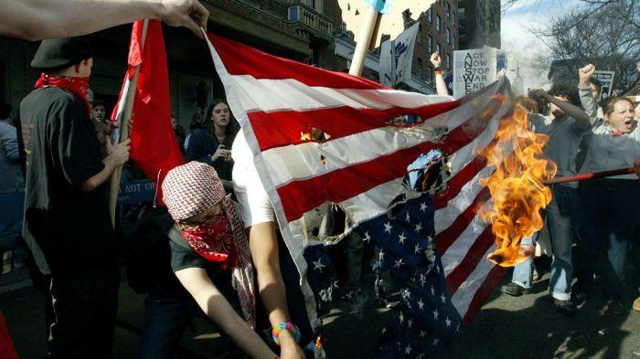 protestors DC